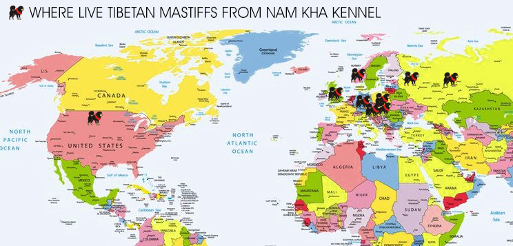Nam Kha in the World
